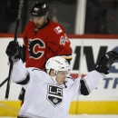 Brown, Quick lift Kings over Flames 2-0 The Associated Press