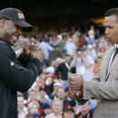 Rodriguez getting hitting advice from Bonds, Martinez The Associated Press