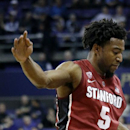 Stanford eases past short-handed Washington, 84-74 The Associated Press
