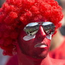 Sanford Stadium is reflected in a fan's sunglasses before an NCAA college football game between Georgia and Troy Saturday, Sept. 20, 2014, in Athens, Ga The Associated Press