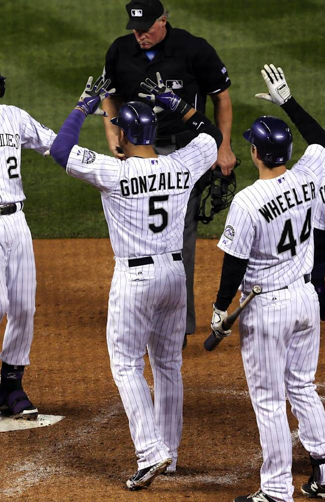 Culberson's HR lifts Rockies over Mets 11-10