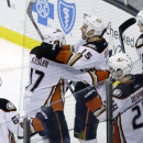 Getzlaf scores in OT as Ducks rally past Bruins The Associated Press