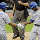 Hosmer's homer in 9th lifts Royals to 2-1 win over Indians The Associated Press