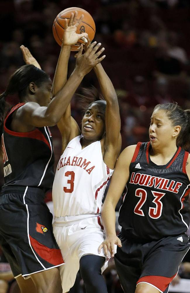 Louisville women beat Oklahoma in OT