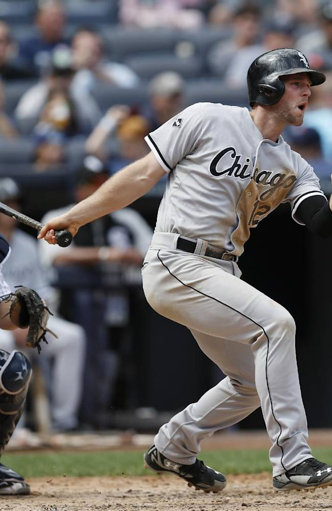 Sale squanders lead, White Sox lose to Yanks in 10