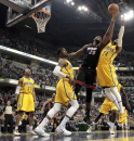 Pacers use rally late to beat Heat 84-83 The Associated Press