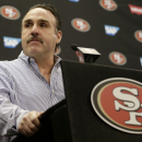 49ers' Jim Tomsula begins first training camp as new coach The Associated Press