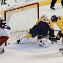 Anisimov, Bobrovsky lead Blue Jackets past Preds The Associated Press