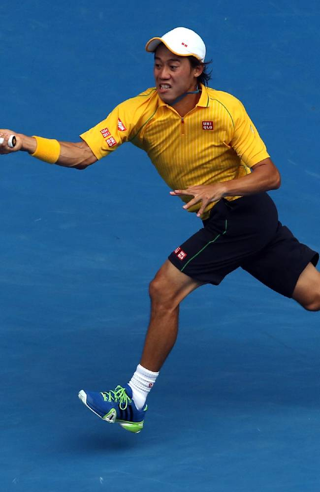 Nadal advances to quarterfinals at Australian Open