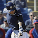 Braun has 2 more hits in Brewers' loss to Cubs The Associated Press