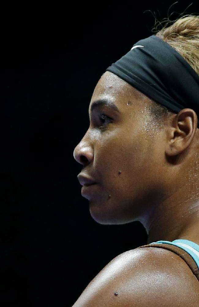 Serena bounces back to best at WTA Finals