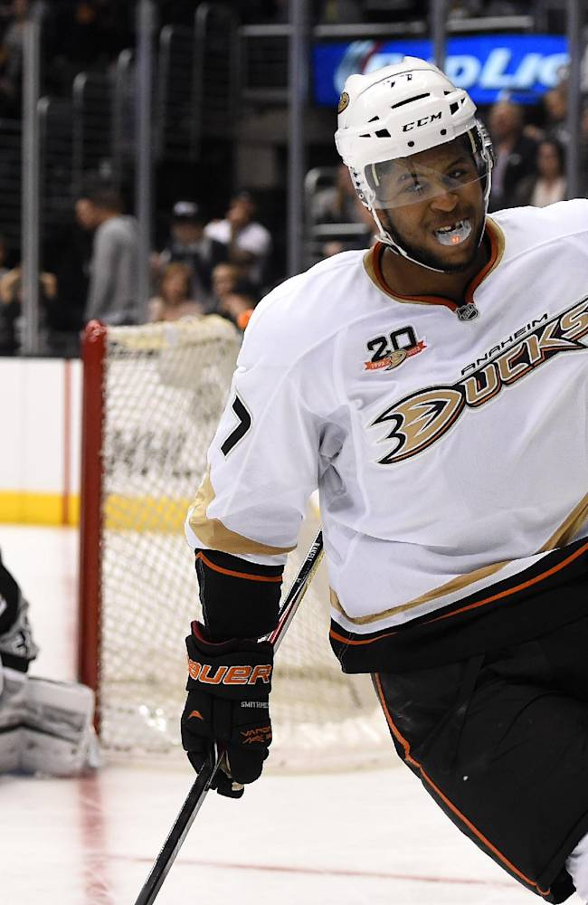 Ducks beat Kings 4-3 in SO, clinch West's top seed