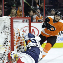 Couturier, Voracek help Flyers beat Panthers, 4-1 The Associated Press