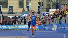 Gomez Prevails In Sprint Finish