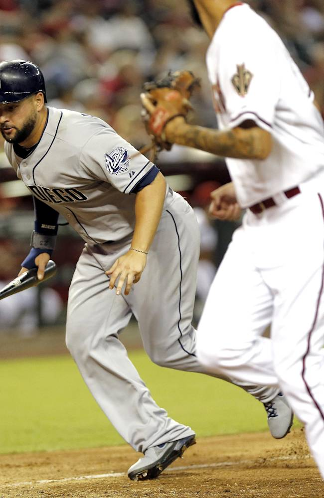 Hill's hit in 10th gives Arizona 10-9 win over SD