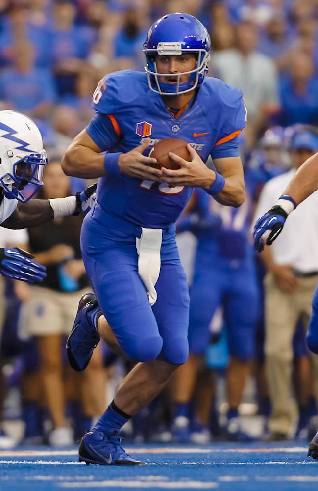 Ajayi gets 4 TDs as Boise St. tops Air Force 42-20