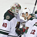 Dubnyk gets 6th shutout of season as Wild beat Oilers 4-0 The Associated Press