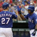 Rangers give starter a win for first time in June (Yahoo! Sports)