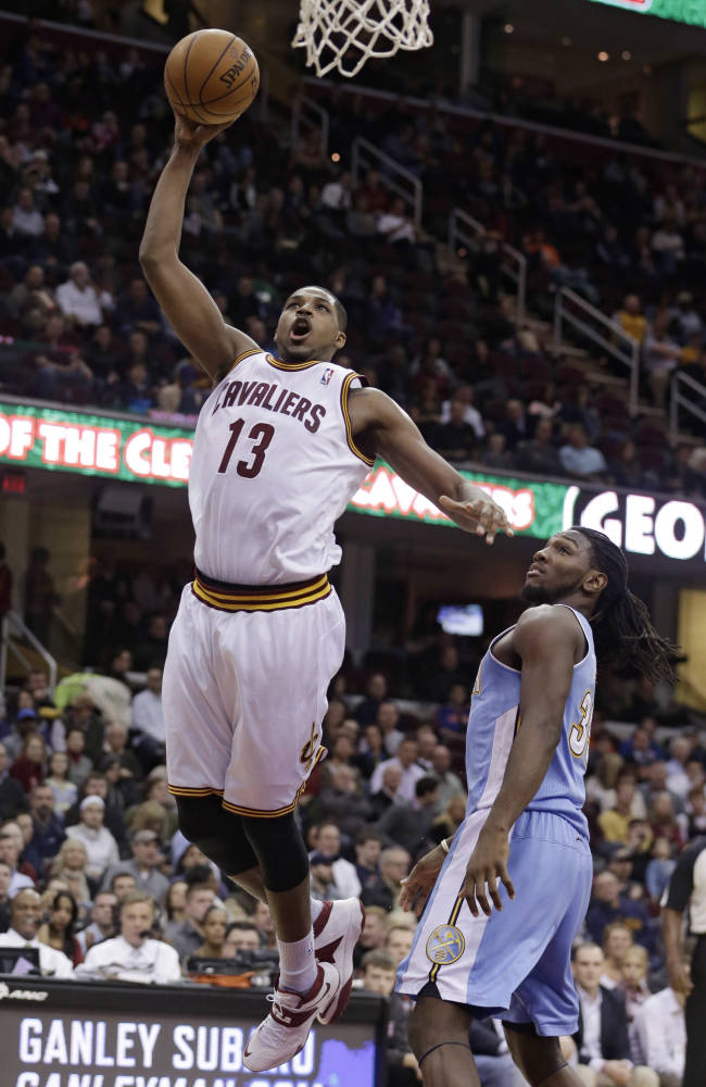 Irving, Cavaliers snap Nuggets' win streak 98-88