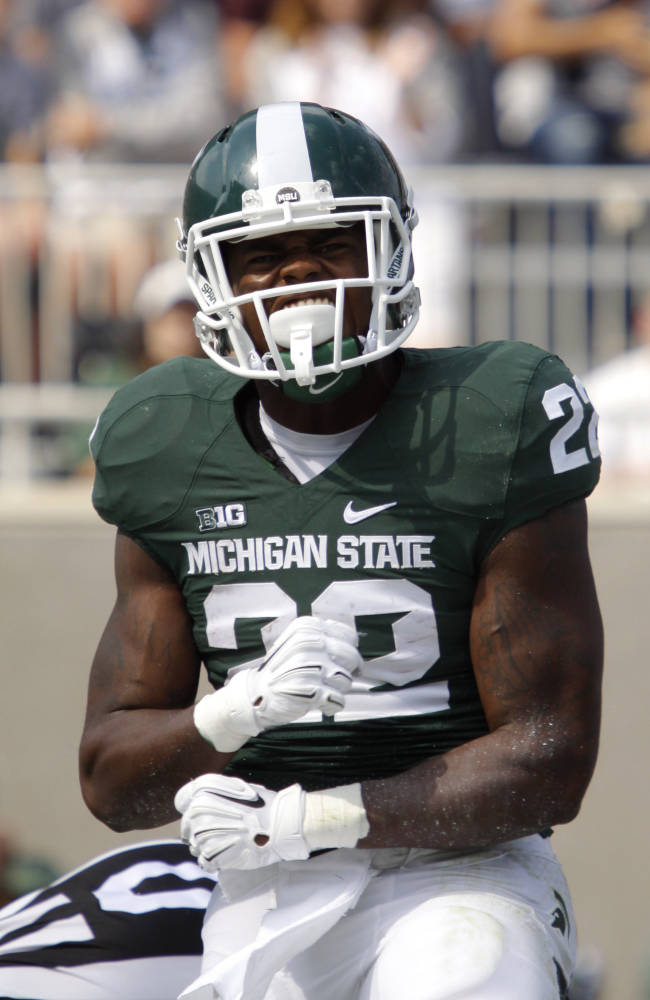 Michigan St RB Williams returning after weapons incident