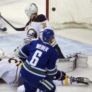Canucks' Miller makes 20 saves in 5-2 win over Sabres The Associated Press