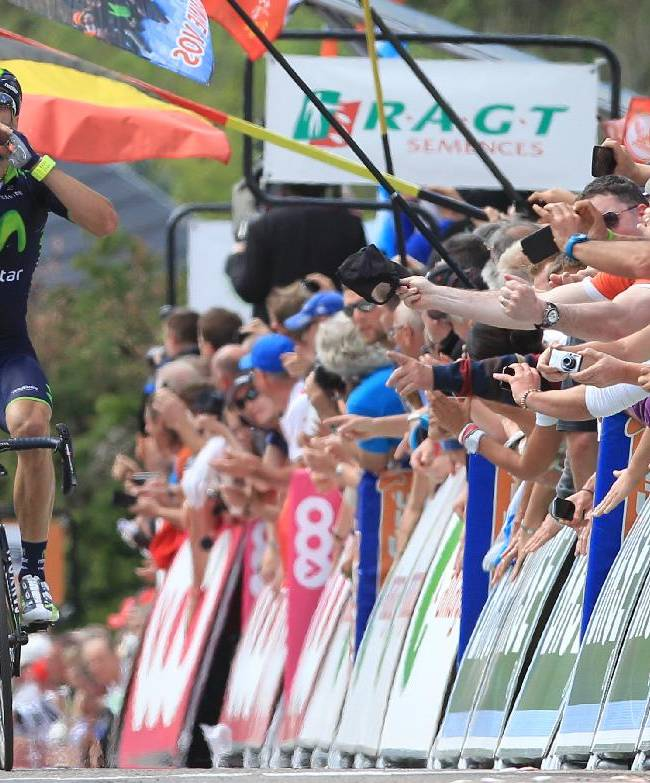 Valverde wins Walloon Arrow Classic for 2nd time