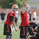 Hoyer gets starting spot over rookie Manziel The Associated Press