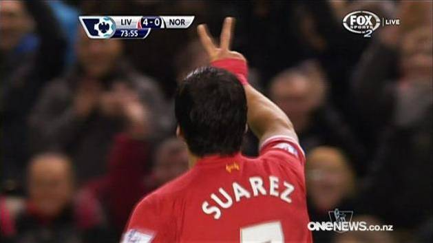 Suarez Dazzles For Liverpool