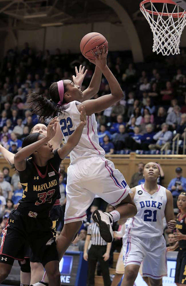 No. 7 Duke beats No. 8 Maryland 84-63