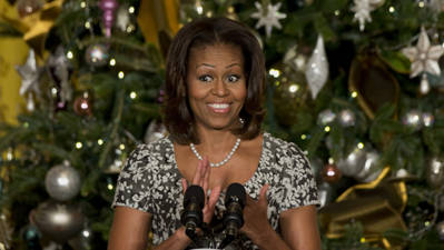 First Lady Unveils White House Christmas Decor
