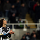 Newcastle United's captain Fabricio Coloccini stands dejected after being defeated by Southampton at the end of their English Premier League soccer match between Newcastle United and Southampton at St James' Park, Newcastle, England, Saturday, Jan. 17, 20