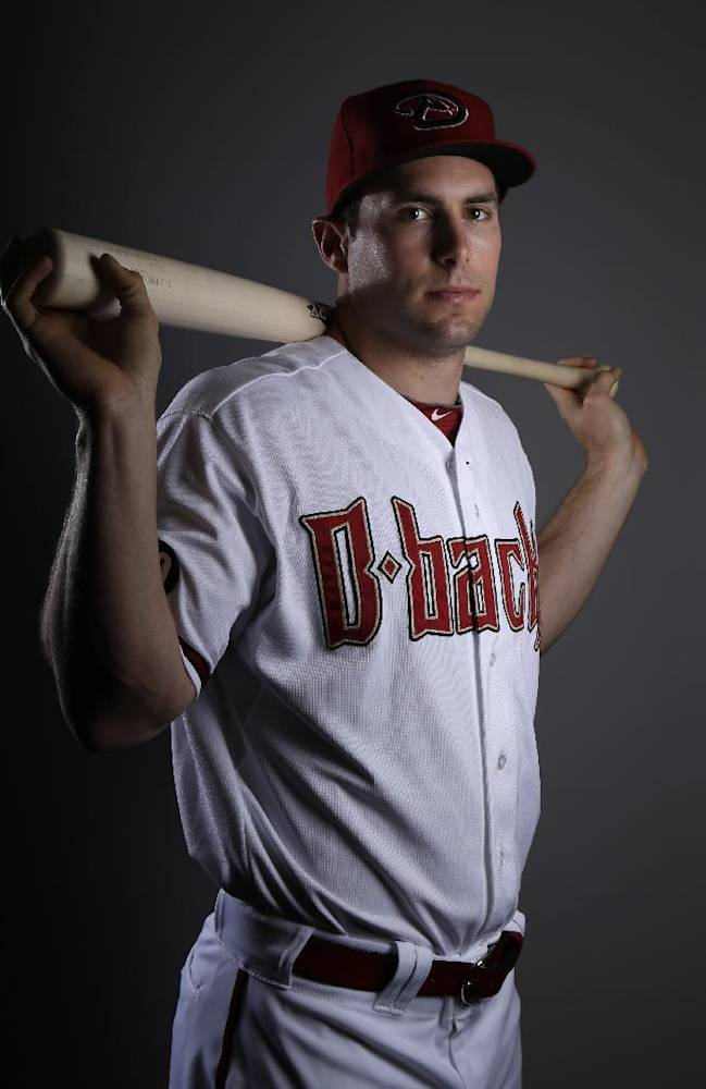 Arizona Diamondbacks first baseman Paul Goldschmidt poses during the team's photo day before a spring training baseball workout, Wednesday, Feb. 19, 2014, in Scottsdale, Ariz