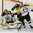 Roy's SO goal lifts Predators to 3-2 win over Bruins The Associated Press