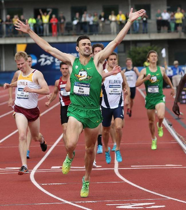 Fleet and Allen push Oregon men to team title