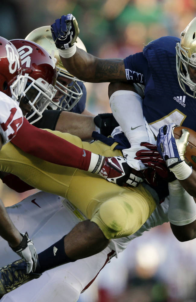 Notre Dame faces possibility of long fall from BCS