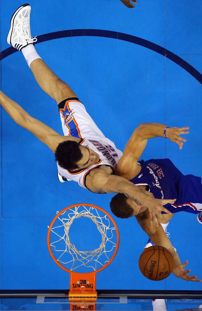 Los Angeles Clippers v Oklahoma City Thunder - Game Two