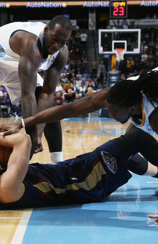 Hickson leads Nuggets past Pelicans 102-93