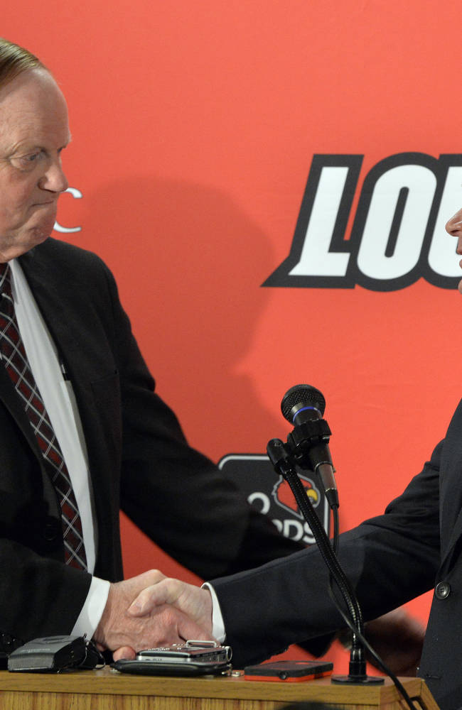 Louisville hires Petrino again as football coach