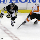 Schenn scores twice as Flyers beat Penguins, 2-1 The Associated Press