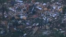 Tornadoes rip through four central U.S. states
