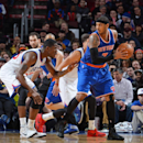 Anthony helps Knicks to 2nd straight win, 98-91 over 76ers The Associated Press