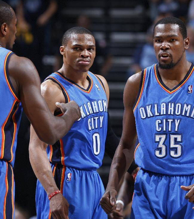Thunder force Game 7, beat Grizzlies 104-84
