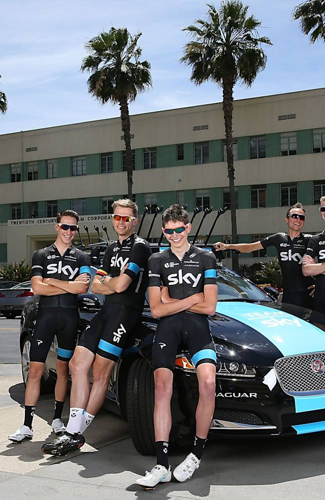 Team Sky Visits Fox Studios