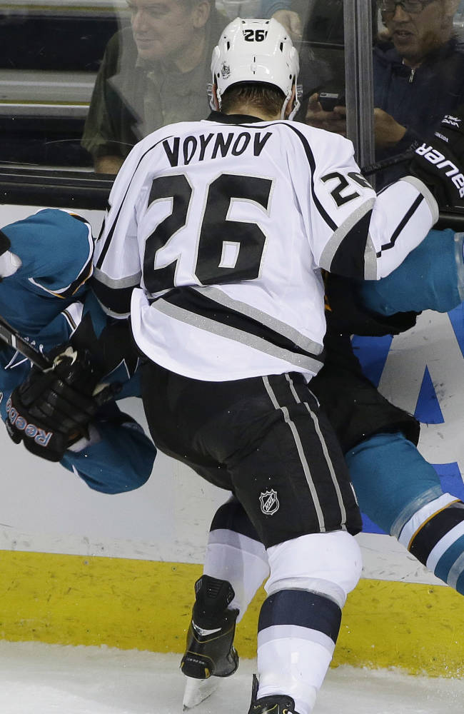 Kings beat Sharks 1-0 to snap 5-game skid