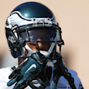 Philadelphia Eagles cornerback Cary Williams moves onto the field for NFL football practice at the team's training facility, Tuesday, Sept. 23, 2014, in Philadelphia. The Associated Press