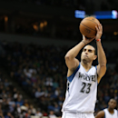 MINNEAPOLIS, MN - NOVEMBER 1: Kevin Martin #23 of the Minnesota Timberwolves prepares to shoot a free throw against the Chicago Bulls on November 1, 2014 at Target Center in Minneapolis, Minnesota. (Photo by Jordan Johnson/NBAE via Getty Images)