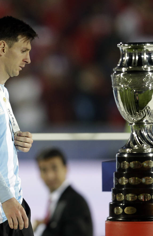 Argentina takes FIFA rankings top spot from Germany