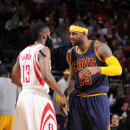 Harden suspended 1 game for kicking James in the groin The Associated Press