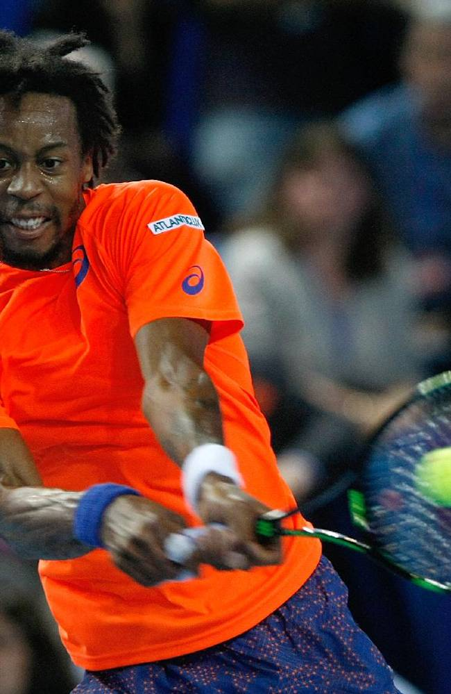Monfils included in France team for Davis Cup 1st round