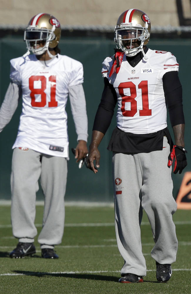 49ers' James awaits chance in NFC title game